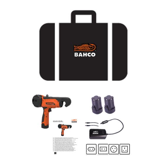 Δετικό αμπελιών μπαταρίας BAHCO BCL40IB
