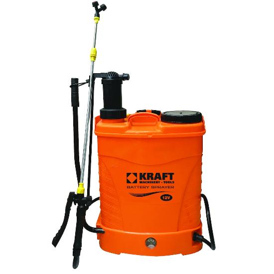 Μπαταρίας ηλεκτρικός ψεκαστήρας & προπιέσεως 2 σε 1 KRAFT 621216