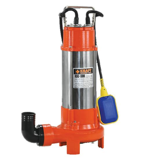 Υποβρύχια Αντλία Λυμάτων INOX με κοπτήρα KRAFT 63550