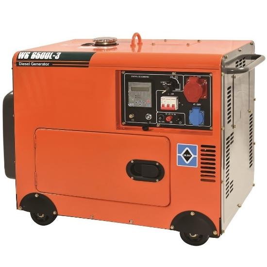 Ηλεκτρογεννήτρια Πετρελαίου KRAFT 63772