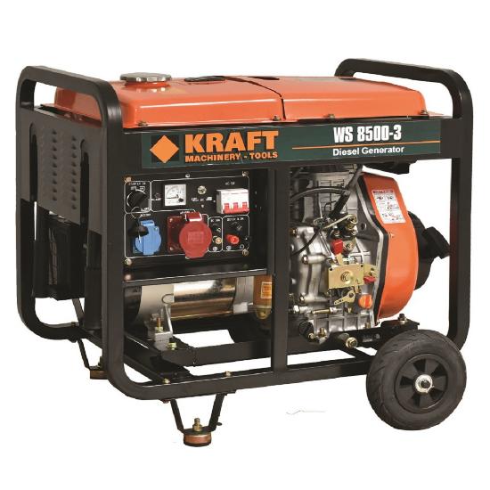 Ηλεκτρογεννήτρια Πετρελαίου KRAFT 63774