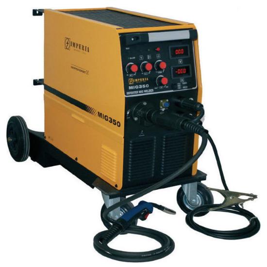 Ηλεκτροσυγκόλληση Inverter Σύρματος & Ηλεκτροδίου MIG/MMA IMPERIA 65656