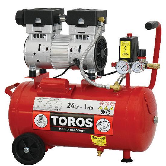 Αεροσυμπιεστής OIL FREE Χαμηλού Θορύβου TOROS 40151