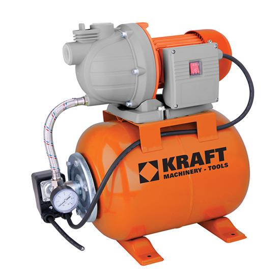 Πιεστικό Συγκρότημα με Δοχείο KRAFT 43502