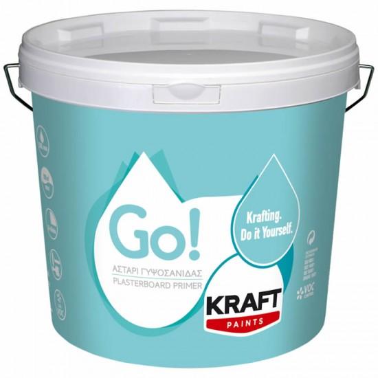 Go! Αστάρι Γυψοσανίδας 3LT Kraft