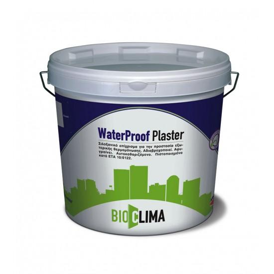 Waterproof Plaster® Σιλαξονικό τελικό επίχρισμα