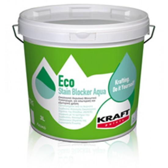 Eco Stain Blocker Aqua Kraft 10LT οικολογικό μονωτικό υπόστρωμα