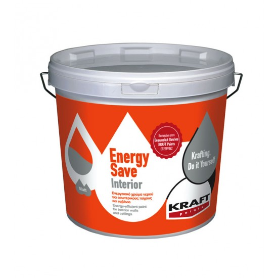 Energy Save Interior 3LT Kraft ενεργειακό θερμομονωτικό χρώμα
