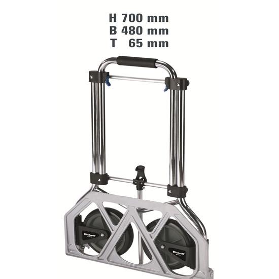 BT-HT 100    Kαρότσι τηλεσκοπικό αλουμινίου