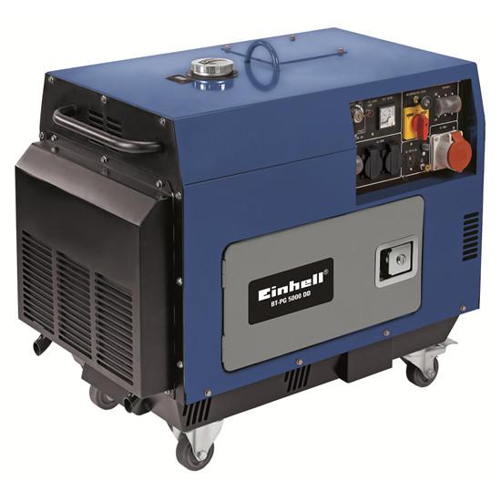 BT-PG 5000  DD   Ηλεκτρογεννήτρια πετρελαίου  κλειστού τύπου