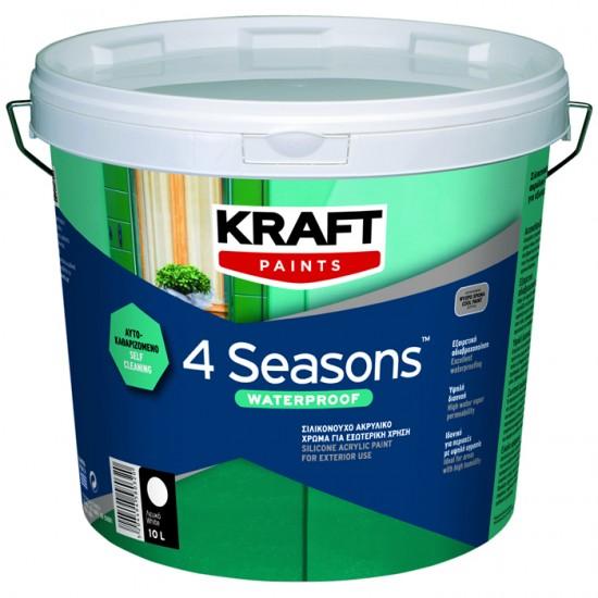 4 Seasons Waterproof Kraft 10LT σιλικονούχο αυτοκαθαριζόμενο ακρυλικό