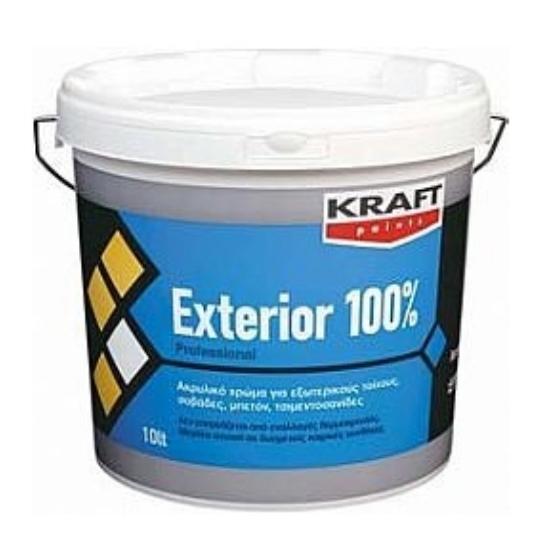 Exterior 100% Kraft 3LT ακρυλικό χρώμα