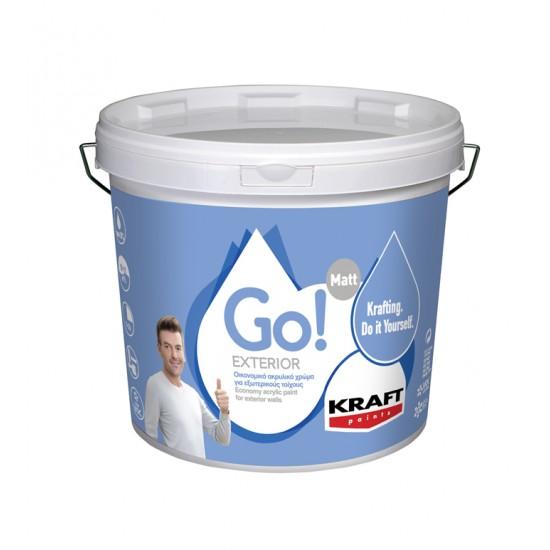 Go! Exterior 3LT Kraft οικονομικό ακρυλικό χρώμα