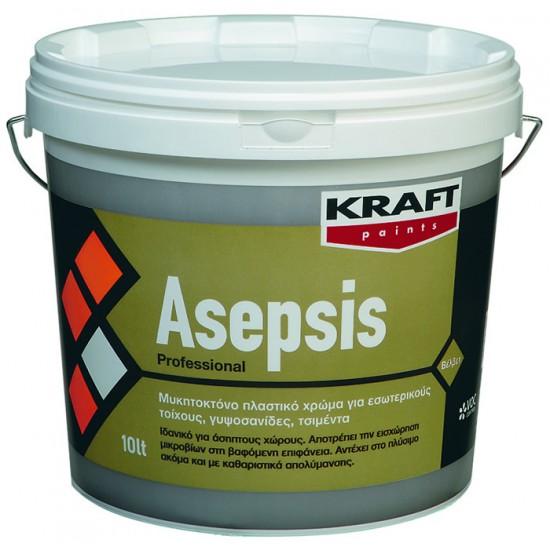 Asepsis Kraft 10LT αντιμυκητιακό πλαστικό χρώμα