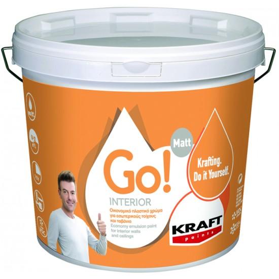 Go! Interior 3LT Kraft οικονομικό πλαστικό χρώμα