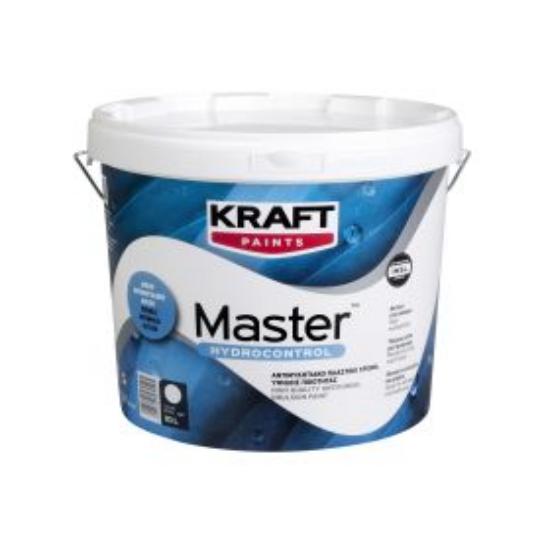 Master Hydrocontrol Kraft 10LT αντιμυκητιακό πλαστικό χρώμα
