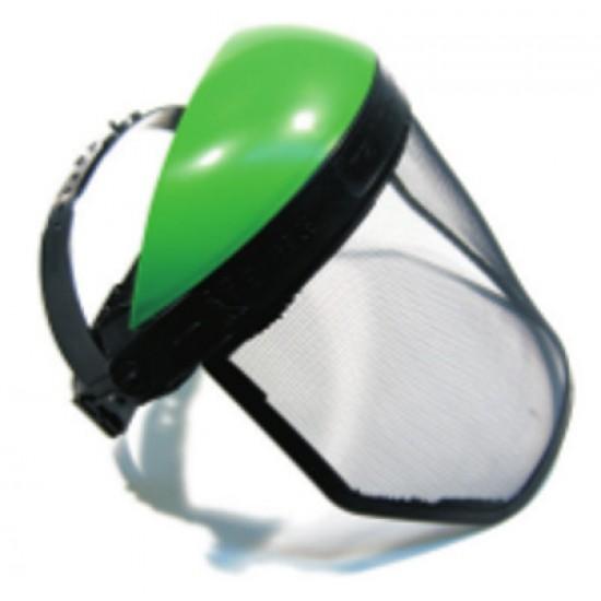 Κράνος Προστασίας Προσώπου με Plexy glass