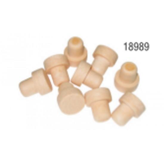 Συνθετικός Φελλός Κεφαλοφόρος για Φιάλη 750ml (συσκ. 10 τεμ.)