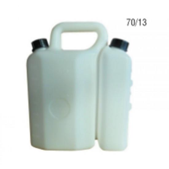 Διπλό Δοχείο για 3,8 Lit Βενζίνης και 1,5 Lit.λάδι
