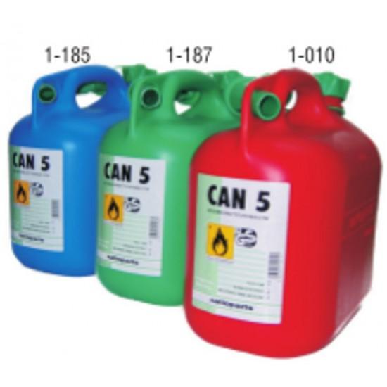 Δοχείο Καυσίμου 5 Lit με ρύγχος σπιράλ
