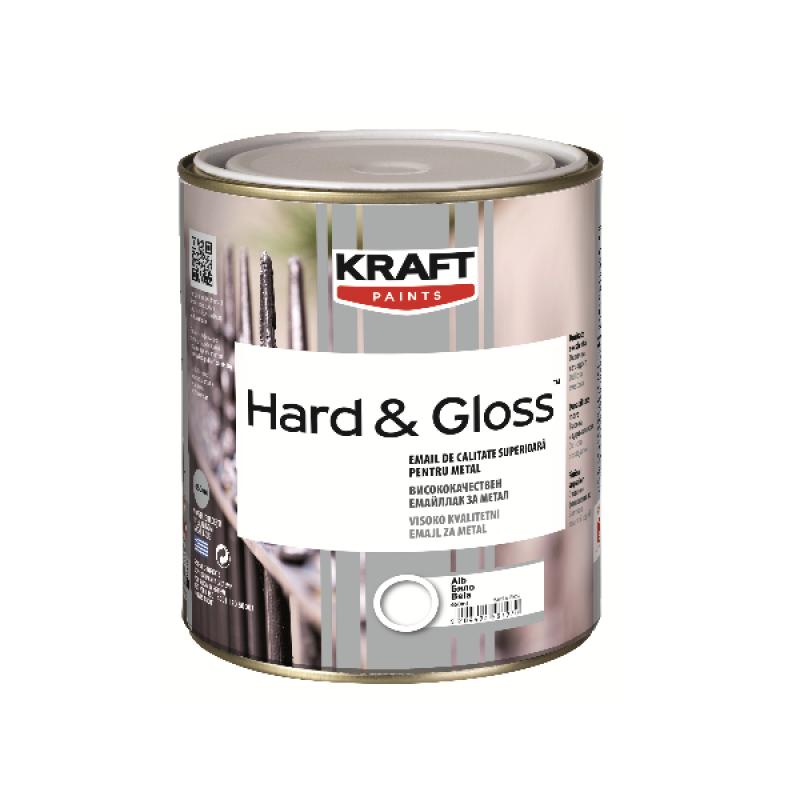 Hard &Gloss Kraft Βερνικόχρωμα γυαλιστερό 0.375L