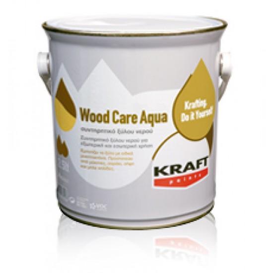 Wood Care Aqua Kraft 0,75LT Συντηρητικό Ξύλου Νερού Πολυουρεθάνης