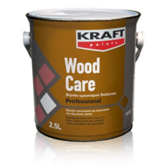 Wood Care Kraft 0,75LT Συντηρητικό+Βερνίκι Εμποτισμού