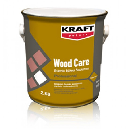 Wood Care Kraft 0,75LT Βερνίκι Κρούστας Διαλύτου γυαλιστερό