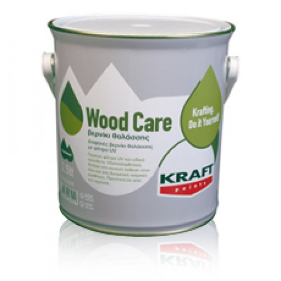Wood Care Kraft 0,75LT Βερνίκι Θαλάσσης με φίτρα UV