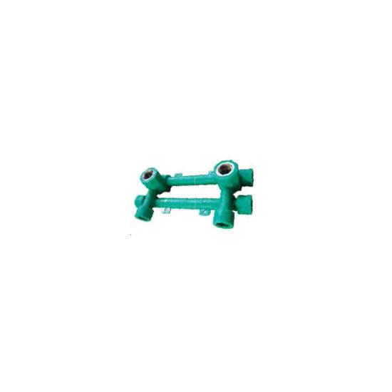 Υδροληψία διπλή με στήριγμα INTERPLAST