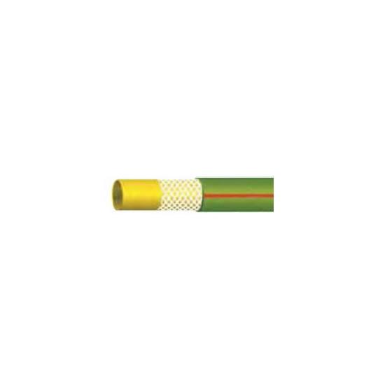 """Λάστιχο AQUA-LINE HOSE Πράσινο-Κόκκινη ρίγα κήπου 1 1/4"""" (32mm)"""