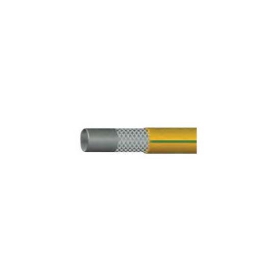 """Λάστιχο FORTEFLEX HOSE Κίτρινο-πράσινη ρίγα κήπου 1""""(25mm)"""