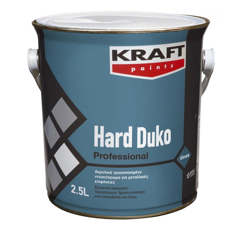 Hard Duko 2,5LT Kraft ακρυλικό ντουκόχρωμα