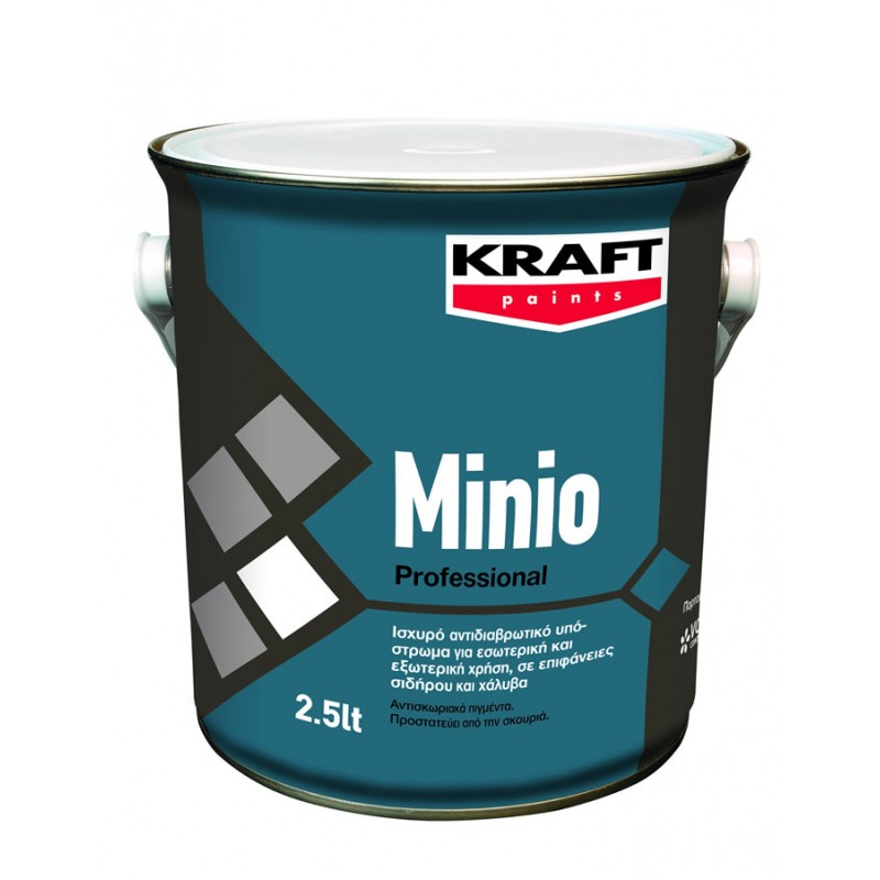 Minio 2,5LT Kraft ισχυρό αντιδιαβρωτικό αστάρι