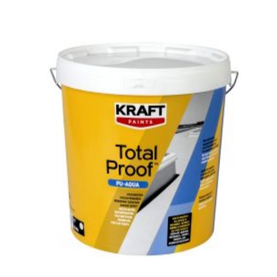 Total Proof PU-AQUA 25kg Kraft στεγανωτική πολυουρεθανική μεμβράνη ταρατσών βάσεως νερού