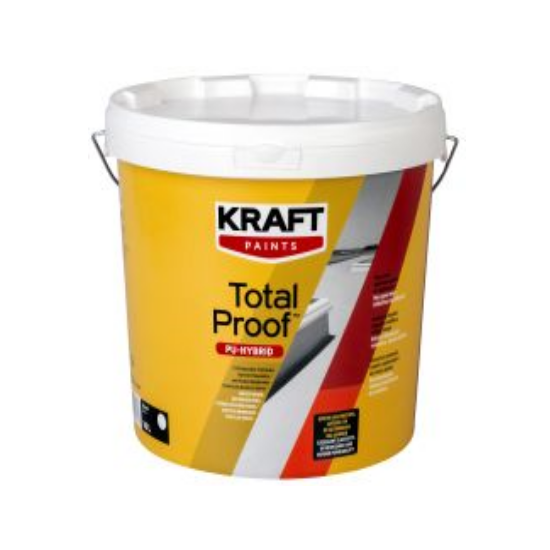 Total Proof PU-HYBDRID 0,75L Kraft πολυουρεθανική/ακρυλική μεμβράνη ταρατσών βάσεως νερού