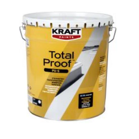 Total Proof PU-S 25kg Kraft στεγανωτική πολυουρεθανική μεμβράνη ταρατσών διαλύτου
