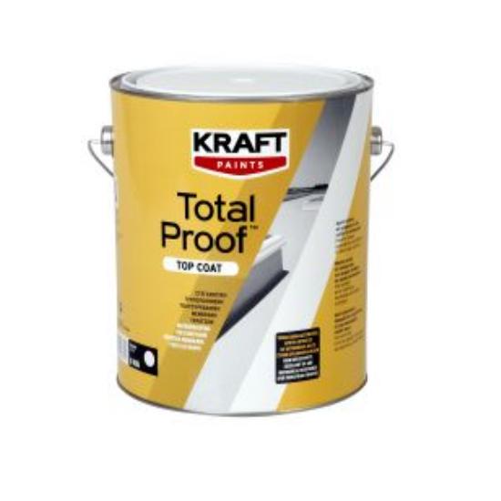 Total Proof TOP COAT 15kg Kraft στεγανωτική πολυουρεθανική μεμβράνη ταρατσών