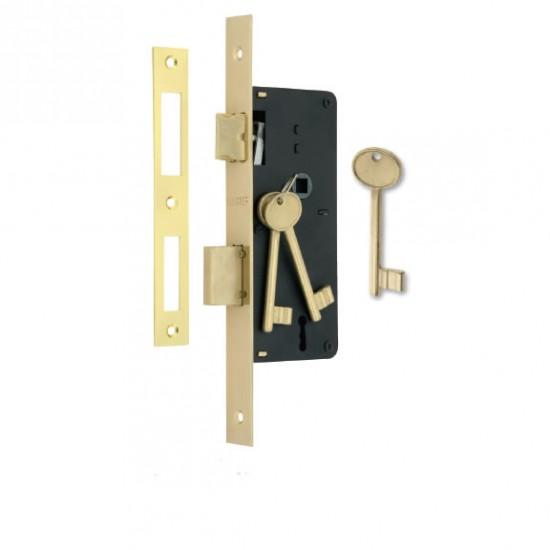 Κλειδαριά 7010/40x75mm τετράγωνη